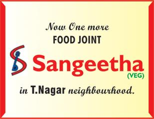 One more food joint in T.Nagar neighbourhood