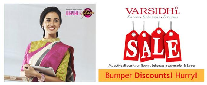 Bumper discounts going on in Varsidhi